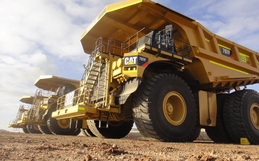 Operación de Camión Minero
