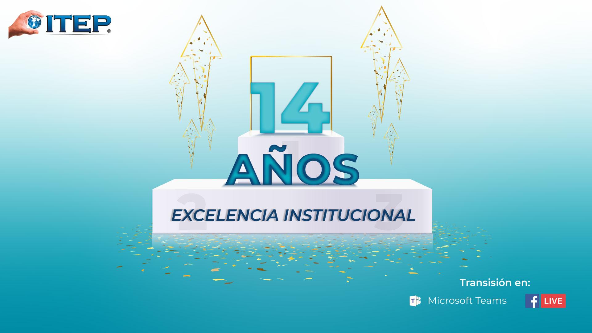 Aniversario 14 años ITEP